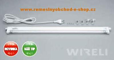 Zářivka do kuchyně,světlo luminiscenční T4 12W 4000K 400mm bílá + zářivka uvnitř 12 W 4000K 400 mm bílá