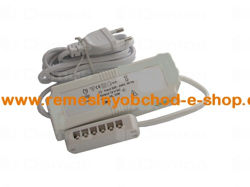 SB-Transformátor 12V, 35W/n230V/6 x AMP SB-Transformátor 12V, 35W/n230V/6 x AMP
