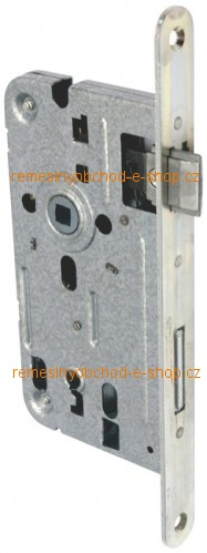 Zámek, zadlabávací, 72/80 klíč obyčejný Zámek zadlabávací bílý zinek R 72/80 klíč obyčejný