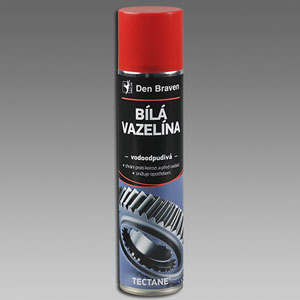 Vazelína bílá,400 ml sprej Bílá vazelína ve spreji,Tectane 400ml