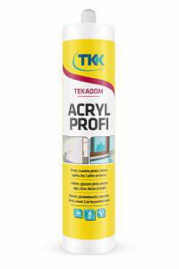 Akrylový tmel TEKA bílá TEKADOM AKRYL profi 300ml