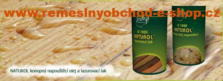 Olejový lazurovací lak NATUROL - bezbarvý OLEJOVÁ LAZURA