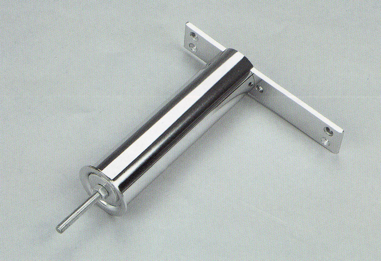 Podpěra barového pultu – rovná 350x280mm chrom Chrom 350x280mm